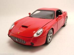 【送料無料】模型車 モデルカー スポーツカー フェラーリレッドモデルカーホットホイールferrari 575 gtz zagato 2006 rot, modellauto 118 mattel hot wheels