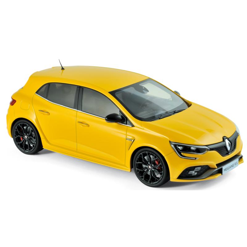 【送料無料】模型車 モデルカー スポーツカー ルノーメガーヌイエローrenault megane rs 2017 yellow 118 185226 norev