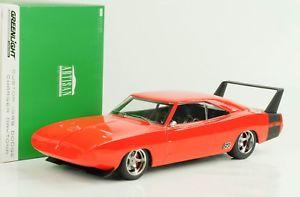 【送料無料】模型車 モデルカー スポーツカー デイトナオレンジブラックライト