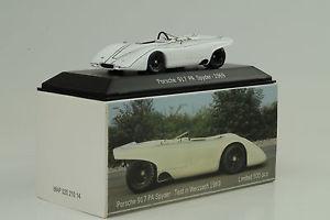 【送料無料】模型車 モデルカー スポーツカー ポルシェスパイダーテストプロパティマップ1969 porsche 917 pa spyder test weissach weiss 143 spark museum map