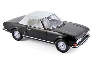 【送料無料】模型車 モデルカー スポーツカー プジョーカブリオレブラックモデルpeugeot 504 cabrio 1971 schwarz  norev 118  184784 modell 2017