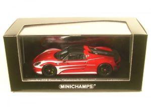 【送料無料】模型車 モデルカー スポーツカー ポルシェスパイダーパッケージルマンレースデザインホワイト