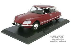 【送料無料】模型車 モデルカー スポーツカー シトロエンパラスcitroen ds 23 pallas baujahr 1973 rot 118 norev 181568