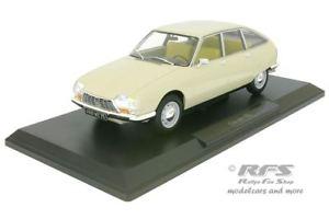 【送料無料】模型車 モデルカー スポーツカー シトロエンベージュcitroen gs baujahr 1971 beige 118 norev 181623