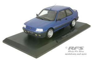 【送料無料】模型車 モデルカー スポーツカー プジョーpeugeot 309 gti 16 baujahr 1991 blau 118 norev 184881