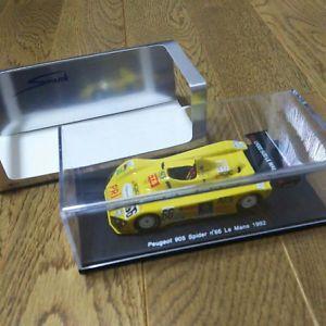 【送料無料】模型車 モデルカー スポーツカー スパークプジョースパイダー#ルマンspark 143 peugeot 905 spider 66 le mans 1992 s1276