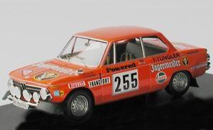 【送料無料】模型車 モデルカー スポーツカー モンテカルロラリー#イェーガーマイスターbmw 2002 ti rallye 255 jgermeister stiller wagener monte carlo 1973 tr 143