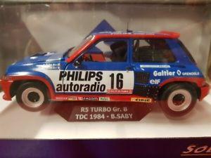 【送料無料】模型車 モデルカー スポーツカー ルノーターボサビー118 solido renault r5 turbo gr b tdc 1984 b saby