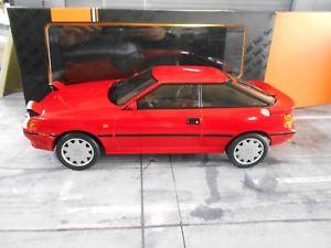 【送料無料】模型車 モデルカー スポーツカー トヨタセリカクーペネットワークダイカストtoyota celica coupe st165 st 165 red rot 1990 ixo diecast neu 118