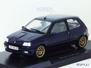 【送料無料】模型車 モデルカー スポーツカー ルノークリオウィリアムズnorev 118 185230 renault clio williams 1993, blau neu