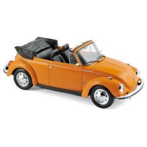 【送料無料】模型車 モデルカー スポーツカー フォルクスワーゲンカブリオレオレンジvolkswagen 1303 cabriolet 1972 orange 118 188521 norev