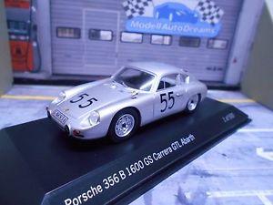 【送料無料】模型車 モデルカー スポーツカー ポルシェカレラアバルト#スパークporsche 356 b abarth 1600 gs carrera gtl 55 solitude 1963 ling resin spark 143