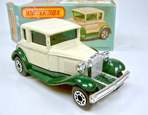 【送料無料】模型車 モデルカー スポーツカー ボックスマッチフォードモデルヴァンスペアホイールmatchbox sf nr 73c ford model a van ersatzrad ausgefllt top in box