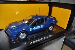 【送料無料】模型車 モデルカー スポーツカー ミニチュアアルパインminiature norev 118 neuve alpine a310 v6 1980 gendarmerie avec boite