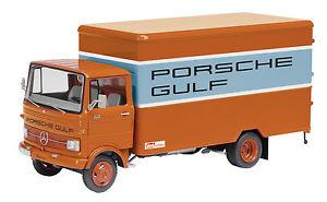 【送料無料】模型車 モデルカー スポーツカー ポルシェガルフオレンジschuco mb lp 608 porsche gulf orange stt03524 143