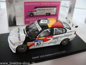 【送料無料】模型車 モデルカー スポーツカー スパーク#チームベルギー143 spark s0403 bmw 320i 10 tekblom team belgium 02
