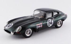 【送料無料】模型車 モデルカー スポーツカー ベストジャガータイプクーペセブリングbest9657 jaguar e type coupe sebring 12 hours 1968 143