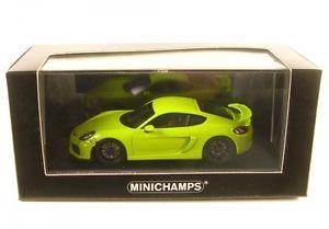 【送料無料】模型車 モデルカー スポーツカー ポルシェケイマングアテマラporsche cayman gt4 acid green 2016