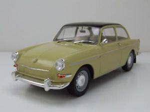 【送料無料】模型車 モデルカー スポーツカー フォルクスワーゲンタイプベージュブラックモデルカーvw 1500 s typ 3 1963 beigeschwarz, modellauto 118 mcg