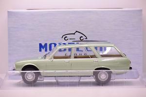 【送料無料】模型車 モデルカー スポーツカー プジョーブレークライトグリーンメタリックpeugeot 504 break 1976 light green metallic modelcar 118 neuve en boite