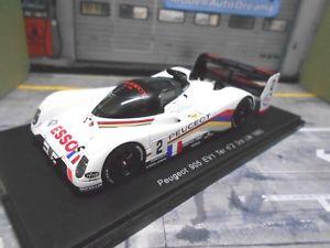 【送料無料】模型車 モデルカー スポーツカー プジョールマン#スパークpeugeot 905 ev1 evo le mans 1993 2 alliot baldi jabouille ess spark resin 143
