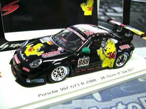 【送料無料】模型車 モデルカー スポーツカー ポルシェグアテマラスパ#スパークporsche 911 997 gt3 r haribo 24h spa 2011 manthey 888 menzel 1750 spark 143
