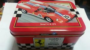 【送料無料】模型車 モデルカー スポーツカー フェラーリメタルボックスferrari 512m 1970 143 solido metal box