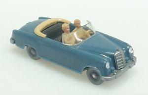 【送料無料】模型車 モデルカー スポーツカー メルセデスカブリオwm nr143 mercedes 220 cabrio hellazurblau v3, ops tp