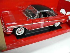 【送料無料】模型車 モデルカー スポーツカー ヤットミンデソトレッド118 yat ming desoto adventurer 1961 rot 92738