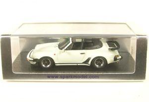 【送料無料】模型車 モデルカー スポーツカー ポルシェターボカブリオレporsche 911 turbo 33 cabriolet white 1989