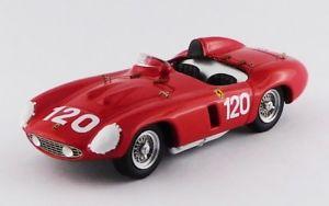 【送料無料】模型車 モデルカー スポーツカー アートフェラーリモンツァタルガフローリオart372 ferrari 750 monza targa florio 1955 143