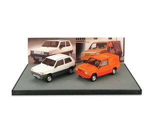 【送料無料】模型車 モデルカー スポーツカー フィアットパンダプロトスカラハムfiat panda prototipo zero giaguaro prova 1979 scala 143 a007 brumm anteprima