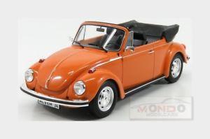 【送料無料】模型車 モデルカー スポーツカー フォルクスワーゲンビートルカブリオレオレンジオープンvolkswagen beetle 1303 cabriolet open 1972 orange norev 118 nv188521