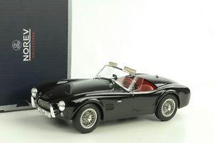 【送料無料】模型車 モデルカー スポーツカー コブラダイカストac cobra 289 1963 schwarz diecast 118 norev 182754 neu