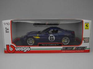 【送料無料】模型車 モデルカー スポーツカー フェラーリカリフォルニアferrari california t burago 118 70th annyversary