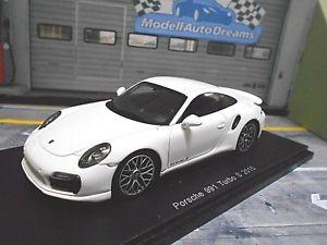 【送料無料】模型車 モデルカー スポーツカー ポルシェターボクーペホワイトハイエンドスパークporsche 911 991 turbo s coupe weiss 2015 neu spark resin highenddetail 143