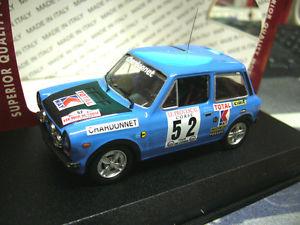 【送料無料】模型車 モデルカー スポーツカー アバルト#ラリーツールドコルスベストautobianchi a112 a 112 abarth 52 pagani rallye tour de corse 1977 best 143