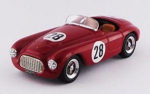 【送料無料】模型車 モデルカー スポーツカー タイプフェラーリバルケッタポルトガルグランプリart378 ferrari 166 mm barchetta portugal grand prix 1952 c biondetti 143