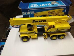 【送料無料】模型車 モデルカー スポーツカー goliath camion giallo gioco anni 60 70 joustragoliath camion giallo gioco anni 60 70 joustra