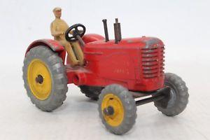 【送料無料】模型車 モデルカー スポーツカー マッシーハリストターズイングランド#dinky toys no 300 27a masseyharris tractor meccano ltd made in england 2