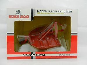 【送料無料】模型車 モデルカー スポーツカー プロモーションブッシュモデルロータリーカッター116 dcp diecast promotions *bush hog* model 12 rotary cutter 50th anni *nib*