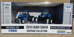 【送料無料】模型車 モデルカー スポーツカー ファームショーヘリテージコレクションフォードニューホーランド164 ertl 2018 farm show heritage collection *ford 8970 amp; holland t8435*