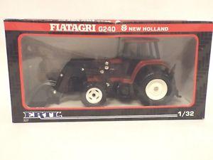【送料無料】模型車 モデルカー スポーツカー スケールニューホーランドトター132 scale ertl item 327 fiatagri g240 holland tractor loader, , 921