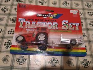 【送料無料】模型車 モデルカー スポーツカー ダイカストトターbritains diecast metal tractor set
