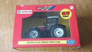 【送料無料】模型車 モデルカー スポーツカー ァートターneues angebot132 steyr 6135 profi tractor britains