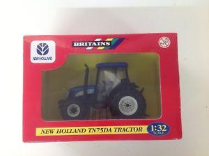 【送料無料】模型車 モデルカー スポーツカー ニューホーランドスケールbritains ref 42021 holland tn75da tractor 132 scale boxed