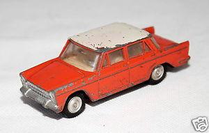 【送料無料】模型車 モデルカー スポーツカー ガマモデルカーモデルフィアットgama modellauto metallmodell, fiat 1800, 1 47