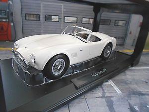 【送料無料】模型車 モデルカー スポーツカー フォードコブラロードスタースリムラインバージョンホワイトac cobra ford 289 roadster schmale version weiss white 1963 182752 norev 118