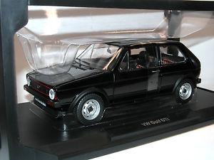 【送料無料】模型車 モデルカー スポーツカー ゴルフモデルカーnorev 188487 vw golf i gti baujahr 1976 schwarz modellauto 118
