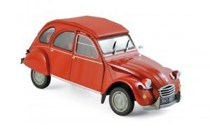 【送料無料】模型車 モデルカー スポーツカー リオレッドnorev 181495 citron 2cv 6 1972 rio red 118